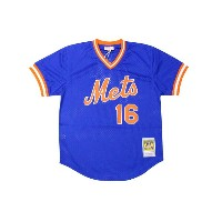 MITCHELL&NESS AUTHENTIC MESH BP JERSEY (NEW YORK METS 1987/DWIGHT GOODEN/No.16: BLUE)ミッチェル&ネス...