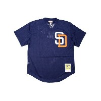 MITCHELL&NESS AUTHENTIC MESH BP JERSEY (SAN DIEGO PADRES 1996/TONY GWYNN/No.19: NAVY)ミッチェル&ネス...