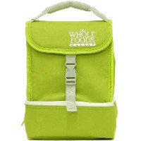 WHOLE FOODS ホールフーズ ランチバッグ Insulated Lunch Bag/保温保冷 弁当ケース LUNCHGREEN