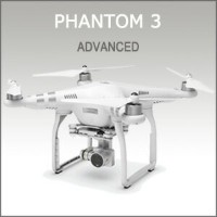 DJI PHANTOM3 ADVANCED ドローン
