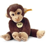 Steiff 280122 シュタイフ ぬいぐるみ サル 25cm Little Friend Monkey Koko (Dark Brown)