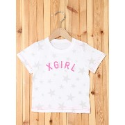 【SALE/35%OFF】X-girl Stages STAR S/S TEE(12M~3T) エックスガールステージス カットソー【RBA_S】【RBA_E】【送料無料】