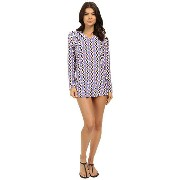 Splendid Astoria Hoodie Tunic Cover-Up