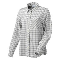 Columbia(コロンビア) VERTICAL RELIEF WOMEN'S R FIT LONG SLEEVE SHIRT S 039(COLUMBIA GREY) PL7956