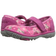 Bogs Kids Hopscoth Mary Jane Spring Flowers (Toddler)P20Aug16