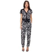 Adrianna Papell Drop Shoulder Jumpsuit