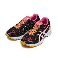 レディース 【ASICS】 アシックス LADY GEL-TRAINER 19 TJR548 SM14 9001 BK/WHT