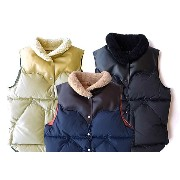 ★SALE 20%OFF★ Rocky Mountain Featherbed ロッキー マウンテン CHRISTY VEST ダウンベスト ムートンカラー クリスティ '16 2016年...