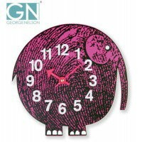George Nelson ジョージ・ネルソン 壁掛け時計 Zoo Timer Clock エレファント GN904【RCP】