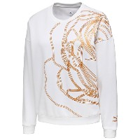 プーマ PUMA X CAREAUX CREW SWEAT ウィメンズ Puma White