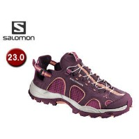 【nightsale】 SALOMON/サロモン L37327000 TECHAMPHIBIAN 3 W 【23.0】 (BORDEAUX/CARMINE/MELON BLOOM)