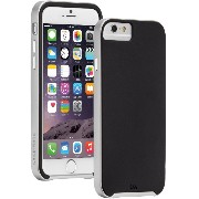 【デュアルレイヤースリム】 Case-Mate 日本正規品 iPhone6s Plus / iPhone6 Plus 5.5 inch 両対応 Slim Tough Case, Black / Silver ス...