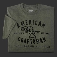 スコッティーキャメロン Tシャツ「2014 American Craftsman Platinum Heather 」Scotty Cameron T-Shirt 10P01Oct16