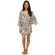 Vix Kai Off White Carmen Caftan Cover-Up