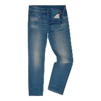 ジースター メンズ ボトムス ジーンズ【G-Star 3301 Firro Loose Fit Stretch Mid Wash Jeans】Denim Mid Wash