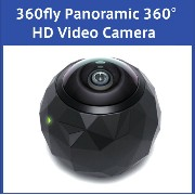 360fly Panoramic 360° HD Video Camera 360°パノラマ HD ビデオカメラ