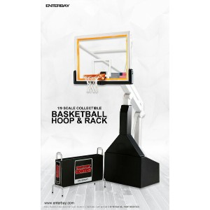 ENTERBAY 1/9 MOTION MASTERPIECE COLLECTIBLE NBA COLLECTIOIN BASKET BALL HOOP STAND(エンターベイ 1/9 モーション...