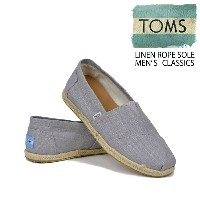 TOMS トムス LINEN ROPE SOLE MENS CLASSICS 【西日本】