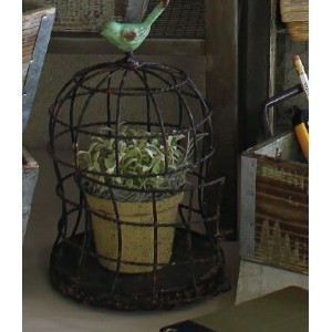 鳥かご型プランターDECOR BIRD CAGE A【DRDY4720A】