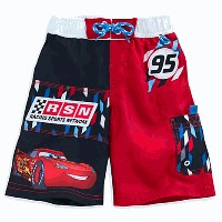 Disney(ディズニー)Lightning McQueen Swim Trunks for Boysカーズの水着 5/6(日本サイズ4-6才106.6cm-121.9cm)