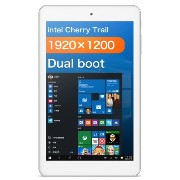 Cube iWork8 Air Dual Boot タブレット PC 32GB , 8.0 inch Windows 10 & Android 5.1 Intel Atom X5-Z8300 Quad Core 1.44GHz-1.8GHz , RAM: 2GB ホワ...