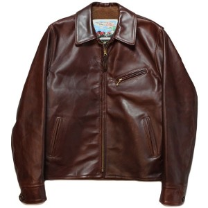 AERO LEATHER HALFBELT STF - SUPER TIGHT FIT - FRONT QUARTER HORSEHIDE BROWN 【エアロレザー 正規取扱い ハーフベルト...