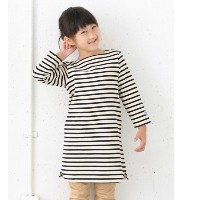 DOORS FORK&SPOON Color Border ONE-PIECE(KIDS)【アーバンリサーチ/URBAN RESEARCH ワンピース】