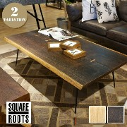 ネクサ コーヒーテーブル(NEXA COFFEE TABLE) SQUARE ROOTS(スクエアルーツ) 122625・123035 カラー(SEARED OAK BK LEG・RAW OAK...