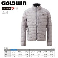 GOLDWIN ゴールドウィン Floater Down Jacket 〔Men's スキーウェア インナーダウンJKT〕 (PH):G51501P [50_off] [SP_SKI_WEAR]