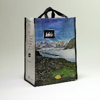 """Oasisbags """"REI""""オレゴン&アラスカ プリントバッグ エコバック"""