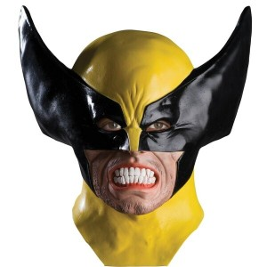 ウルヴァリン マスク Marvel X-Men Adult Wolverine Latex Mask