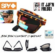 ★SPY★スパイ★THE FOLD★JOHN JOHN FLORENCE★1956 TORT BLACK-HAPPY BRONZE★サングラス