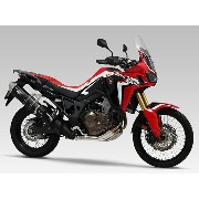 【ヨシムラ】【YOSHIMURA】【HONDA】 【CRF1000L Africa Twin(16-)】Slip-On HEPTA FORCE サイクロン EXPORT SPEC 政府認証 (ヒー...