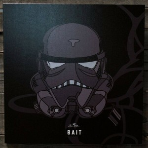 おもちゃグッズ Toys and Collectibles おもちゃ 【BAIT x David Flores Star Wars 24 Inch Canvas - Shadow Storm...