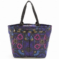 LeSportsac EveryGirl Tote トートバッグ MIDNIGHT FLOWER PATCH 7891-D705 レスポートサック [並行輸入品]