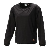 プーマ EVO EMBOSSED CREW SWEAT ウィメンズ Puma Black