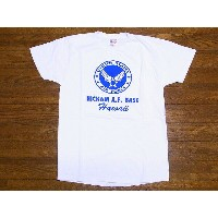 Buzz Rickson's[バズリクソンズ] Tシャツ BR77270 HICKAM A.F.BASE (WHITE)