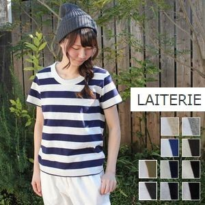 【5%10%OFFクーポン対象】4/21 18:00〜4/26 9:59まで ●●LAITERIE(レイトリー)ふわふわ天竺半袖 Tシャツ 12colormade in japan pct-20a-p