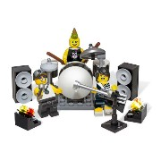 レゴ ミニフィギュア 850486 Rock Band Minifigure Accessory Set