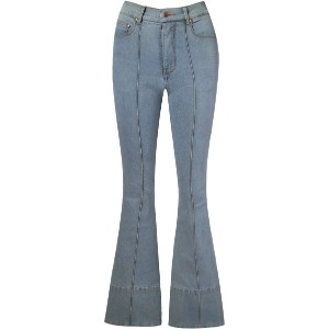 Amapô - high waist flared jeans - women - コットン/スパンデックス - 38