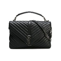 Saint Laurent - Collegé Monogram サッチェル L - women - レザー - ワンサイズ
