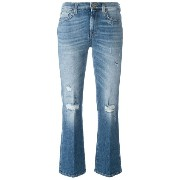 7 For All Mankind Boo クロップドジーンズ