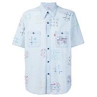 Levi's Vintage Clothing - Noughts and crosses シャツ - men - コットン - S