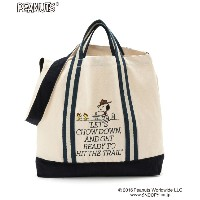 【PEANUTS × Le Magasin】SNOOPYキャンバストート
