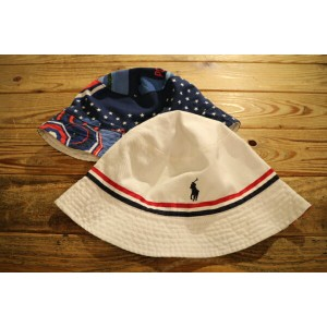 POLO RALPH LAUREN OLYMPIC USA Reversible Bucket Hat