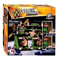 WWE Wrestling C3 Construction StackDown The Usos プレイセット #21072 (海外取寄せ品)