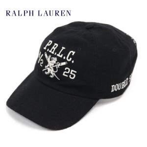 Polo by Ralph Lauren Emblem Baseball Cap US ポロ ラルフローレン キャップ