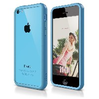 iphone5C ケース アイフォン5C カバー iphone bumper アイフォン5c バンパーケース elago S5C Bumper Case for iPhone 5C (Blue)