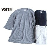VOTE Make New Clothes ヴォート メイク ニュー クローズ WIDE SLEEVE HEAVY THERMAL ワイド スリーブ ヘビー サーマル