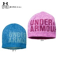 UNDER ARMOUR 〔アンダーアーマー〕AAL3850 UA GIRLS GRAPHIC ビーニー